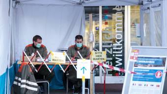 Corona: Zivilschutz im Kanton Solothurn im Einsatz