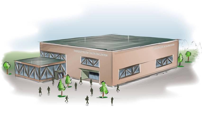Eventzentrum Weinfelden: Projekt beim Kanton eingereicht