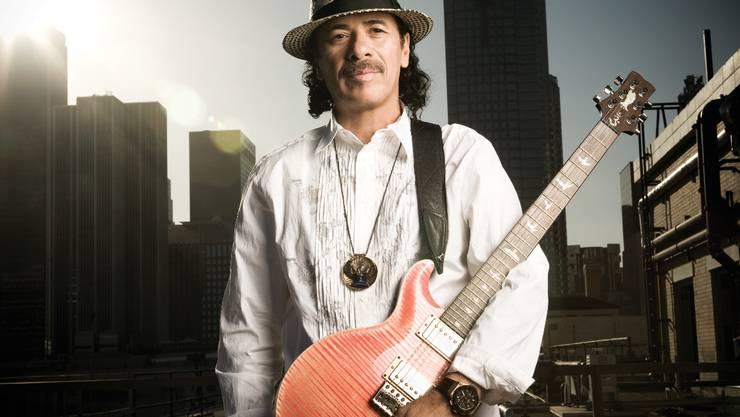 Carlos Santana ist ein Romantiker: Im Juli machte er Cindy Blackman auf der Bühne einen Antrag. Foto: ZVG