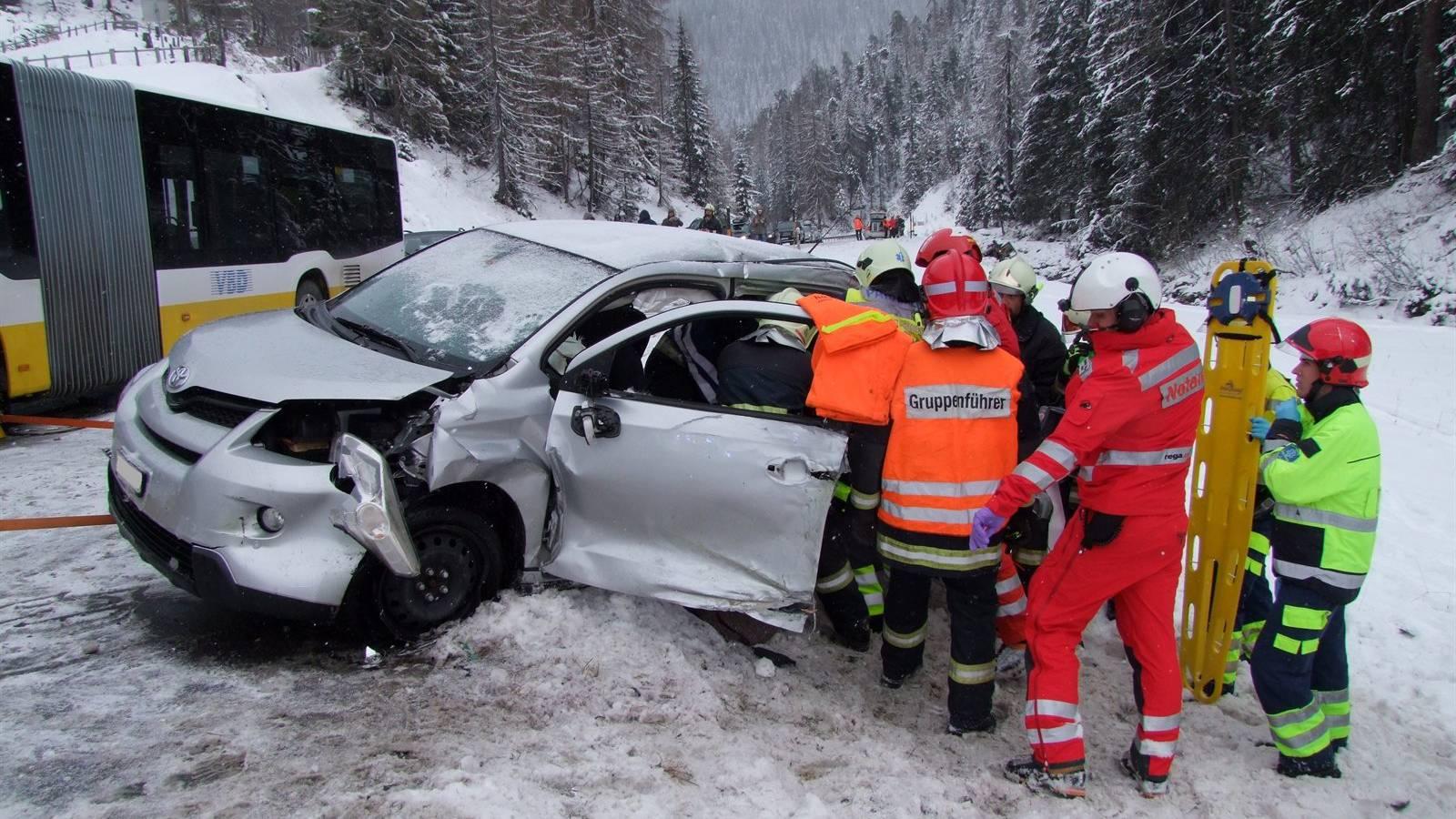 Wolfgangpass bei Davos. (KapoGR)