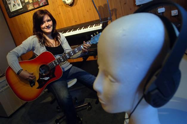 Petra Wydler machte bei Musicstar mit