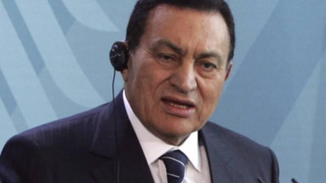 Der frühere ägyptische Präsident Husni Mubarak (Archiv)