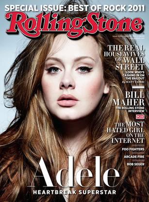 Adele auf dem Cover des Magazins RollingStone