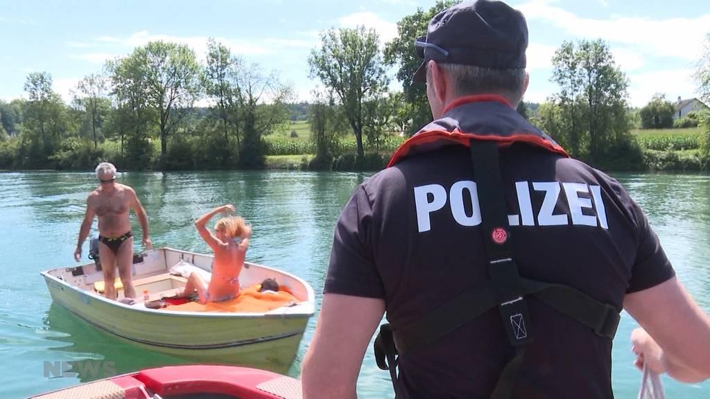Kontrolle zur Prävention: Kantonspolizei Solothurn auf Sicherheits-Patrouille