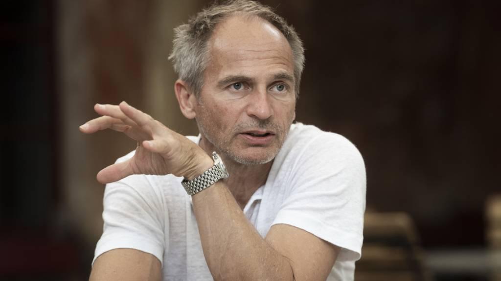 Will den Geist seines verstorbenen Vaters, Clown Dimitri, erhalten und dessen 50-jährige Institution stetig weiter beleben: David Dimitri, Leiter des Tessiner Teatro Dimitri.
