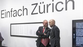 Medienkonferenz «Einfach Zürich» im Landesmuseum