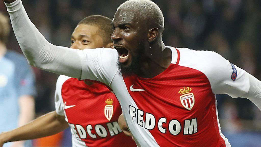 In dieser Saison nicht zu stoppen: Monacos Matchwinner Tiemoué Bakayoko