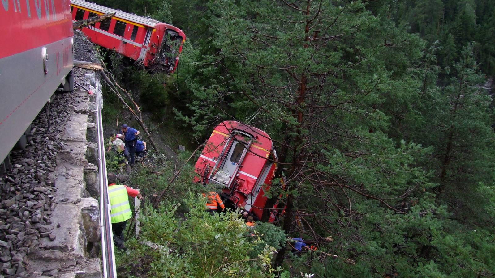 Bahnunglück im Kanton Graubünden: Ein Luzerner stirbt