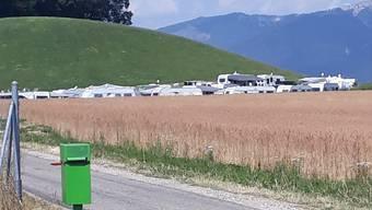 Die Fahrenden, die in den vergangenen Wochen noch in Biberist waren, sind mittlerweile weg.