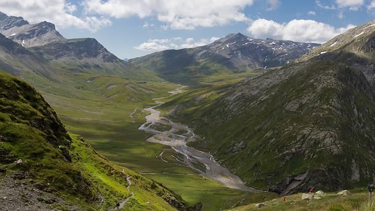 Widerstand gegen den geplanten zweiten Nationalpark Parc Adula rund um die Greina-Hochebene im Bündner Oberland: Der Schweizer Alpen-Club und der Bergführerverband kämpfen gegen Einschränkung der Routenwahl. (Archivbild)