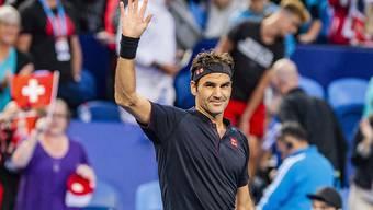 Roger Federer zeigte gegen Alexander Zverev eine beeindruckende Leistung
