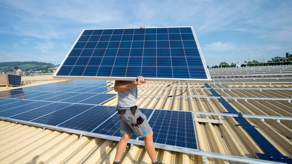 55 Prozent finden, die Energiestrategie werde zu langsam umgesetzt