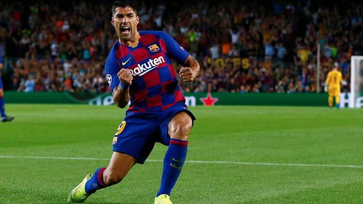 Jubelt Luis Suarez auch gegen Borussia Dortmund?