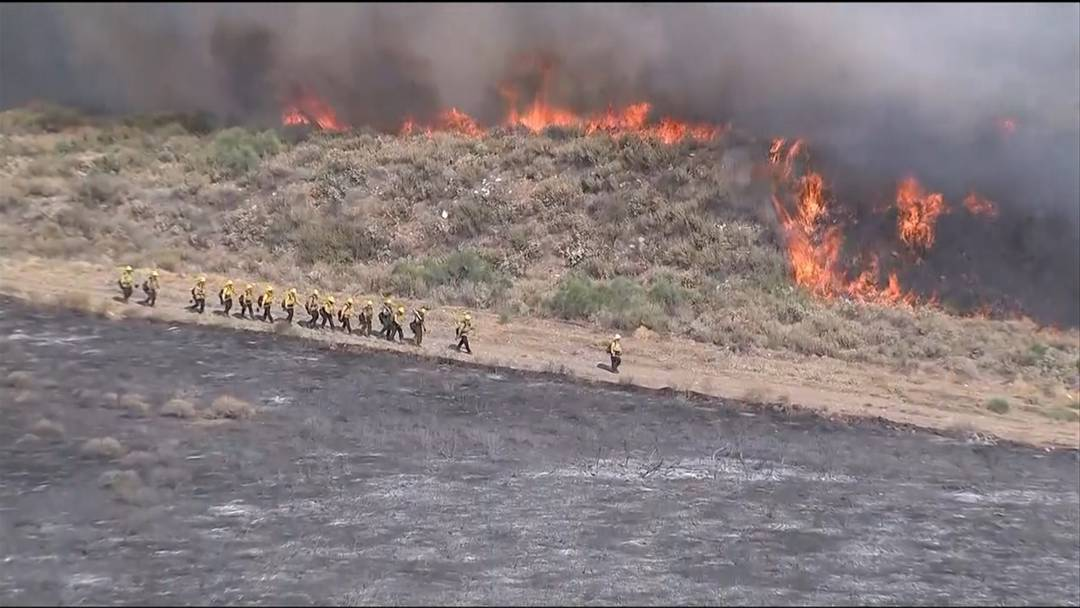 Waldbrand in Kalifornien - 400 Feuerwehrleute im Einsatz