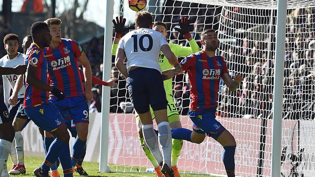 Harry Kane entscheidet das Londoner Derby zwischen Crystal Palace und Tottenham Hotspur