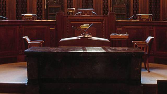 Blick in Gerichtssaal (Symbolbild)