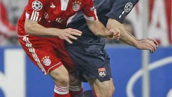 Halbfinal Champions League - Bayern gegen Lyon
