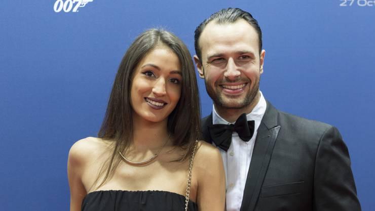 Der Erste Bachelor war Lorenzo Leutenegger. Hier mit Ehefrau und Ex-GNTM-Star Sara Ganz.
