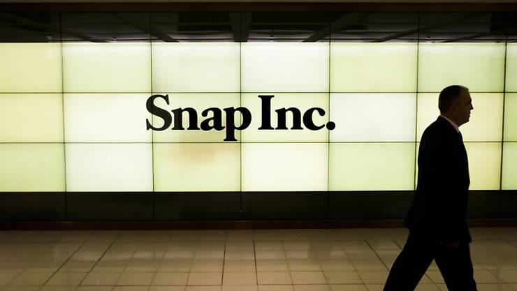 Snap überzeugt nach dem Börsengang nicht: Nutzerzahlen und Umsatz liegen unter den Erwartungen.