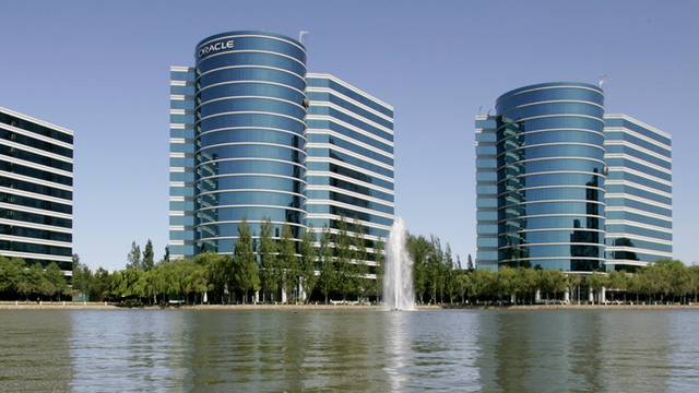 Hauptsitz der Oracle Corp. in Redwood City in Kalifornien