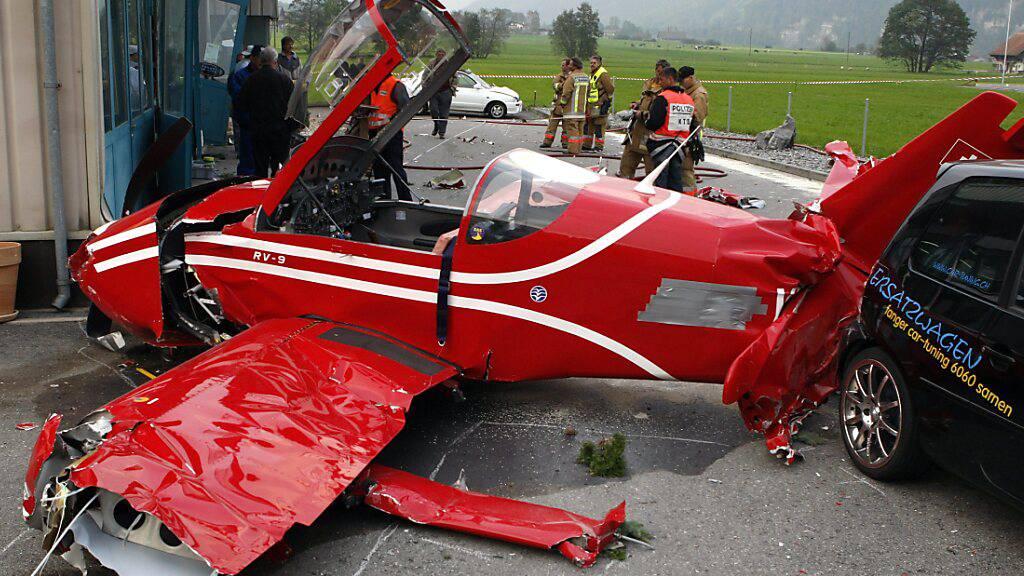 Sicherheitsaspekt mit Fluglärm-Problem in Obwalden verknüpft
