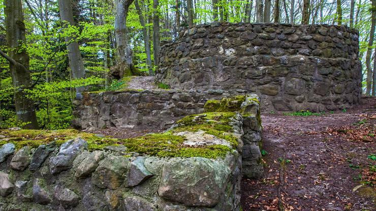 Die Burg Kindhausen wurde im 11. oder frühen 12. Jahrhundert gegründet und bestand aus einem mehrgeschossigen Steinhaus. Heute sind noch Reste von Turm und Wohnhaus sichtbar. Vorort findet man zudem eine Feuerstelle.