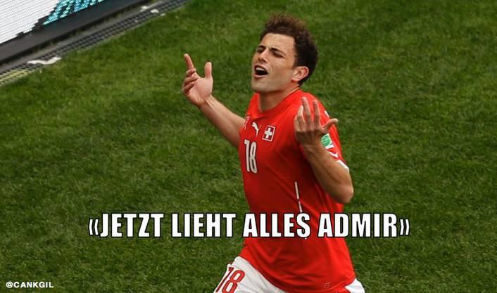 Sorgt Admir Mehmedi für das Schweizer-Glück?