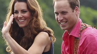 Kate und William: Ihre Liebe wird im Juli mit einem Baby gekrönt (Archiv)