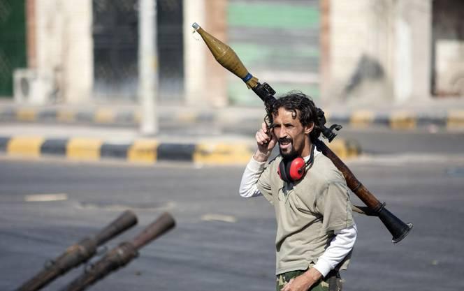Die Rebellen sind ins Zentrum von Tripolis vorgerückt