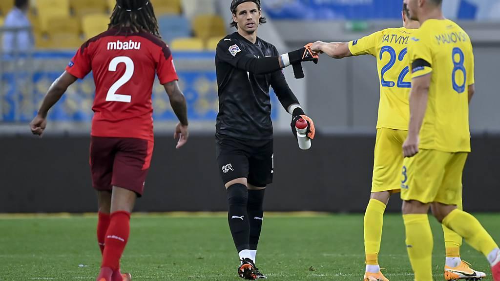 Der Schweizer Torhüter Yann Sommer war mit seinem Fehler beim 0:1 mitverantwortlich für die Niederlage in der Ukraine