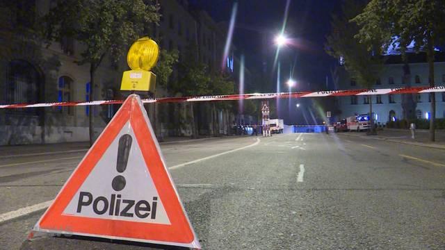 Gesperrter Bundesplatz: Das war los