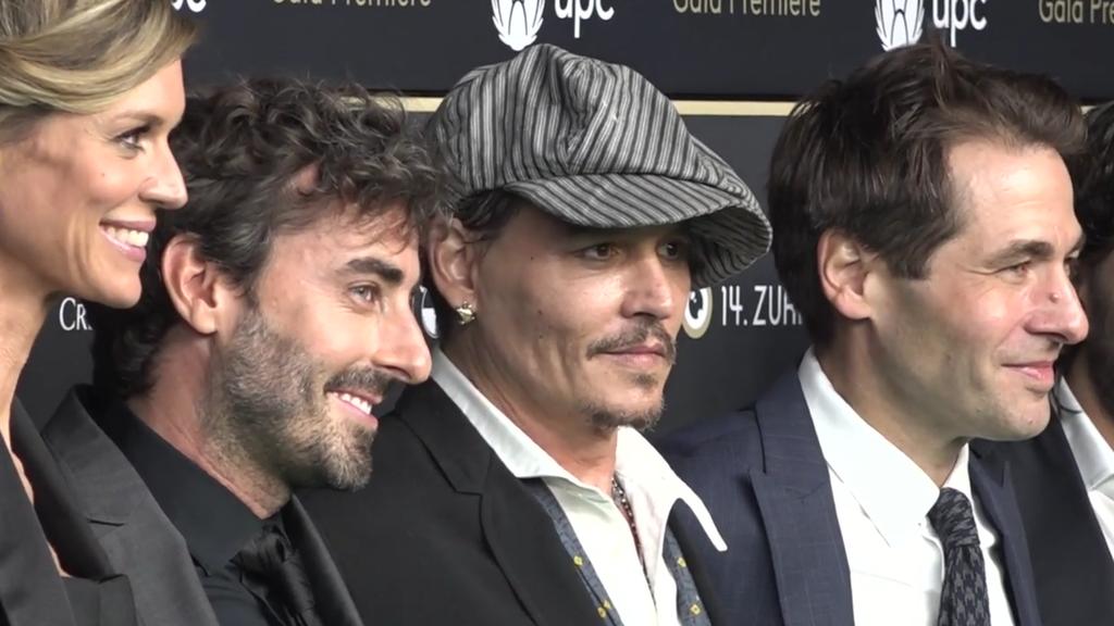 Johnny Depp kehrt ans Zurich Film Festival zurück