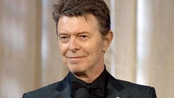 David Bowie inspirierte die Menschen - nun tut es auch seine Handschrift: Eine Plattform bietet Schriftarten an, die den Handschriften berühmter Musiklegenden nachempfunden sind. (Archivbild)