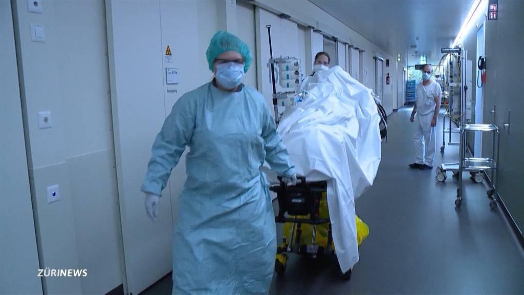 Nicht genug Personal: Corona-Situation im Unispital Zürich spitzt sich zu