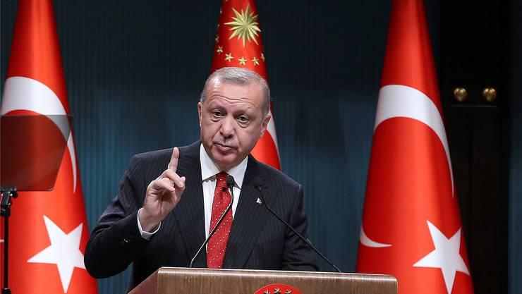 Der türkische Staatschef Recep Tayyip Erdogan akzeptiert die Niederlage in Istanbul nicht und setzt auf eine Wiederholung. Key