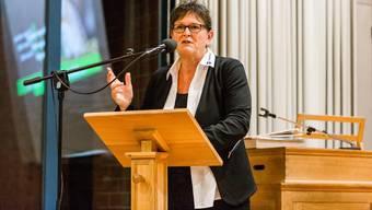 Milly Stöckli, Präsidentin des Ortsbürgerverbands, ist nicht von den Vorteilen einer Fusion mit der Einwohnergemeinde überzeugt.