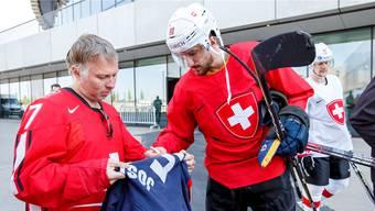WM-Viertelfinal Schweiz-Finnland