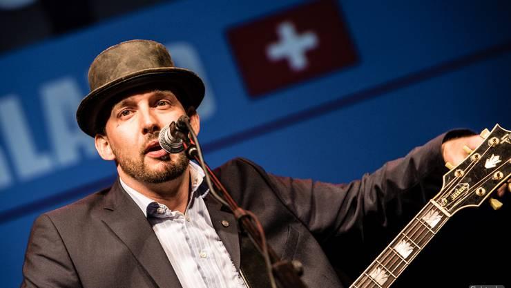 Pascal Geiser an der European Blues Challenge Horsens.
