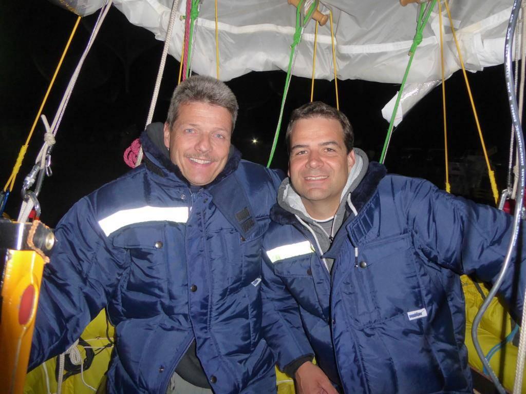 Ein eingespieltes Team: Kurt Frieden und Pascal Witprächtiger. (© zvg)