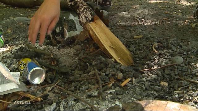 Mehrere Gemeinden erlassen Feuerverbot