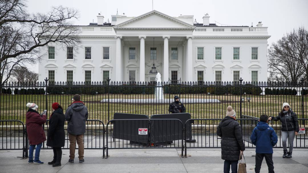 Mann plante Attentat auf das Weisse Haus