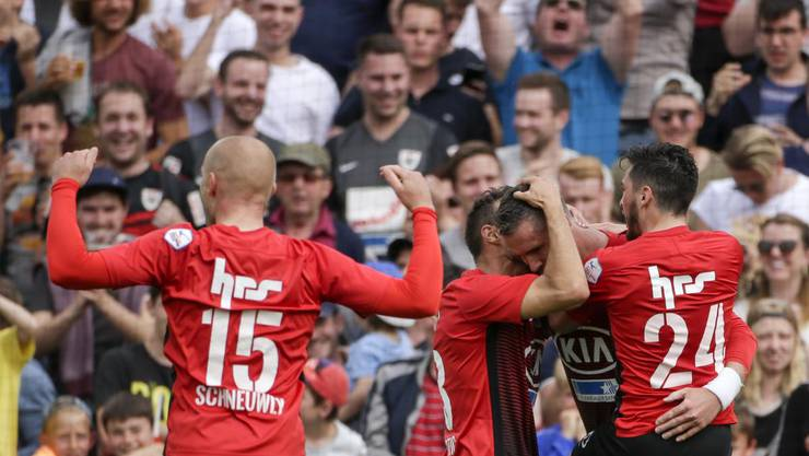 Jubelt der FC Aarau bald in der Super League?