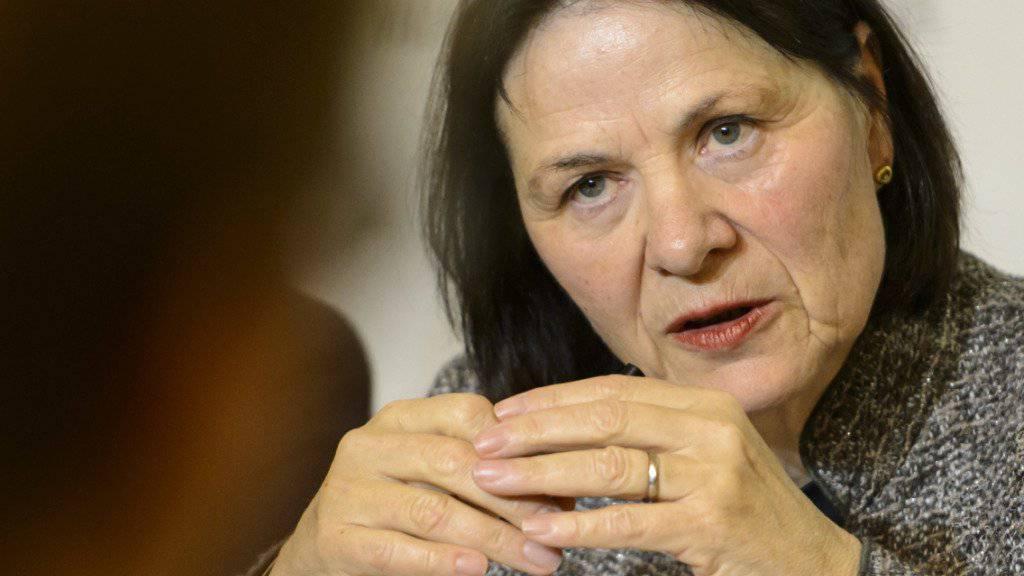 Esther Waeber-Kalbermatten funktioniere in der Walliser Regierung als das «soziale Gewissen», sagte der ehemalige SP-Regierungsrat Thomas Burgener laut Medienmitteilung. (Archivbild)