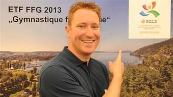 Gesamt-Wettkampfleiter Thomas Jäger ging mit einer persönlichen Tour de Suisse auf Teilnehmerfang fürs ETF.