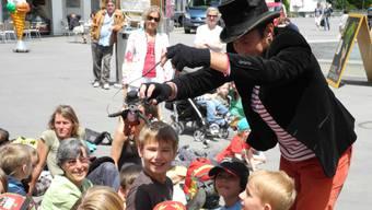 Eindrücke vom Figura Theaterfestival Baden