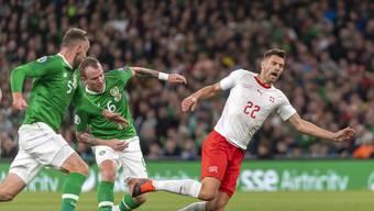 Fussball: Irland - Schweiz (EM-Qualifikation)