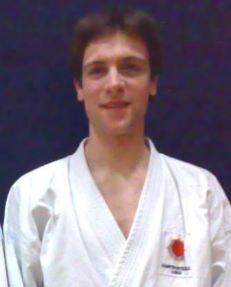 Michael Waldmeier, geb. 1987, Tierarzt und Karate-Lehrer der Kampfsportschule Aarau
