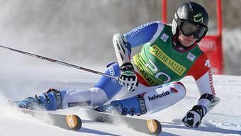 Lara Gut in Aspen mit starker Leistung.