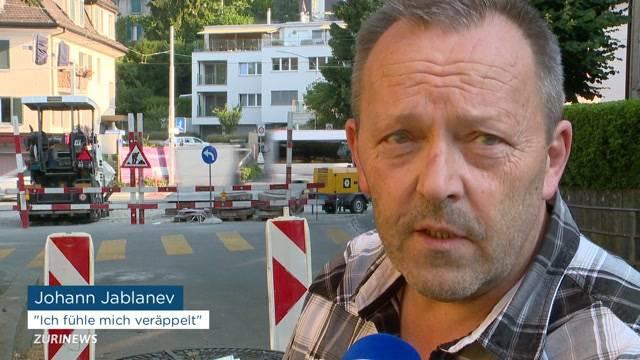 TCS kritisiert Baustellen-Chaos in und um Zürich
