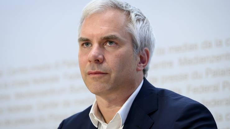 Martin Ackermann, Präsident der wissenschaftlichen Task Force des Bundes, präsentierte am Freitag die aktualisierte Einschätzung zur Coronasituation.